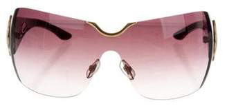 Chopard Rimless Oversize Sunglasses