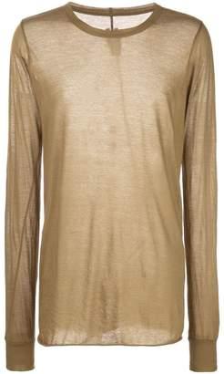 Rick Owens longsleeve woven T-shirt