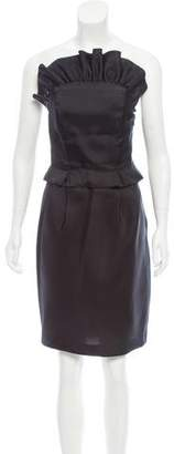 Derek Lam Silk Strapless Dress