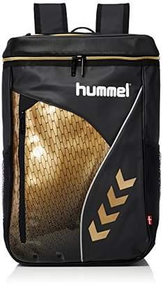 Hummel (ヒュンメル) - [ヒュンメル]リュック ターポリンバックパック ブラック*ゴールド
