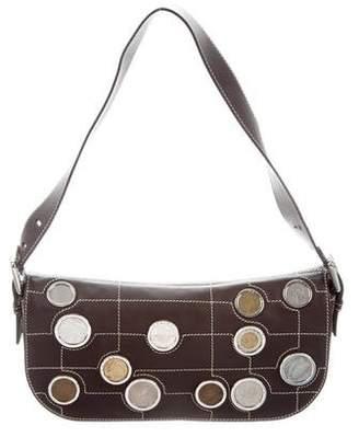 Celine Leather Embellished Bag