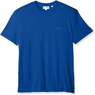 Lacoste Men's Short Sleeve Graphics Jersey Bonded Croc Reg Fit T-Shirt
