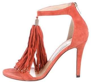 Jimmy Choo Viola Tassel-Embellished Sandals