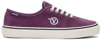 Vans Purple LQQK Studio Edition Authentic One Pie Sneakers