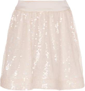 SOONIL Iridescent Sequined Mini Skirt Size: 0