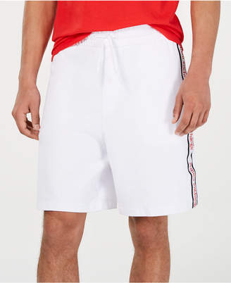 Armani Exchange Men Logo Side-Tape Shorts