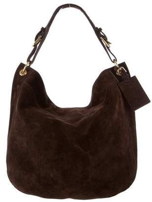Ralph Lauren Large Suede Hobo
