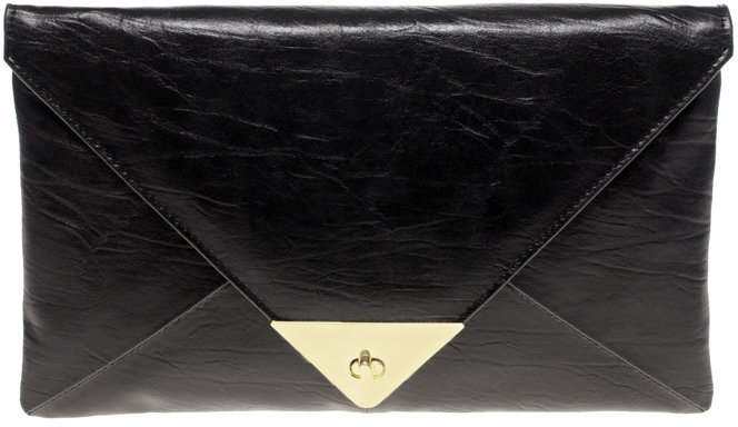 ASOS Pyramid Lock Envelope Clutch