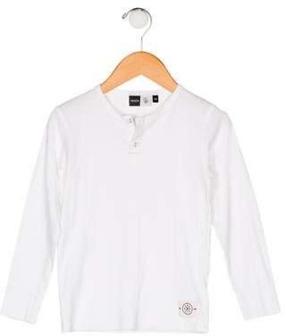 Molo Boys' Long Sleeve Crew Neck Shirt