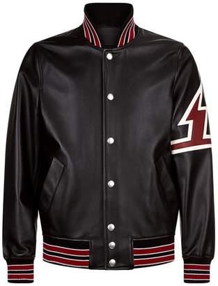 Givenchy Lightning Patch Bomber Jacket