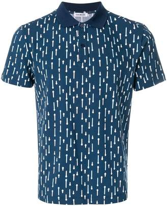 Dirk Bikkembergs printed polo top