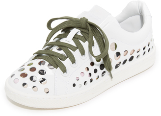 KENZO K-Lace Sneakers $350 thestylecure.com