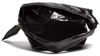 Isabel Marant Eewa Patent Leather Shoulder Bag - Womens - Black