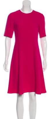 Joseph Knee-Length Short Sleeve Dress