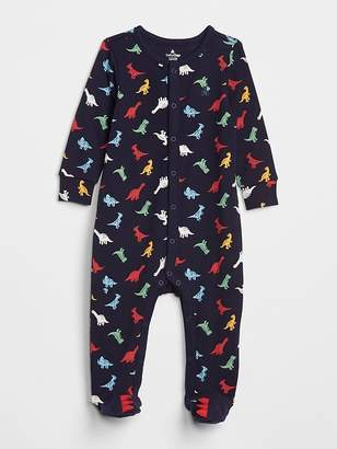 Gap Favorite Dino Footed One-Piece