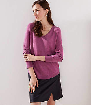 LOFT Shirttail Sweater