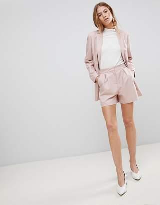 Asos DESIGN tailored mini jacquard short