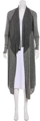 Helmut Lang Longline Wool Cardigan