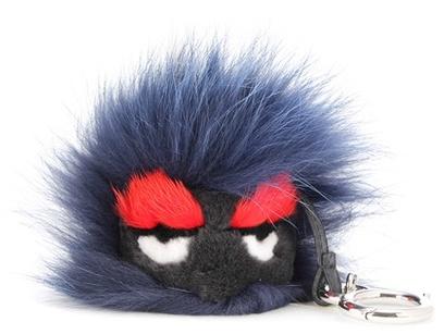 FendiFendi Bag Bugs Fur Charm