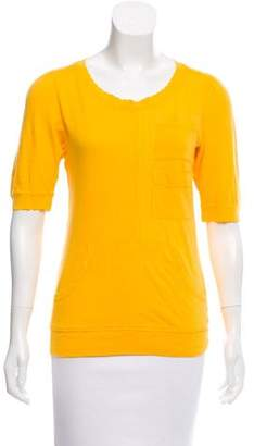 Marc by Marc Jacobs Ribbed Short Sleeve Top w/ Tags
