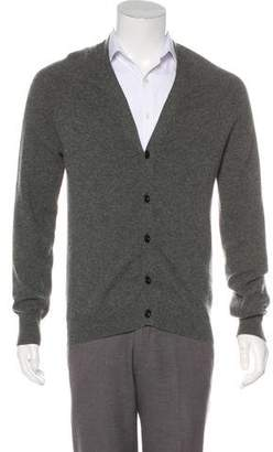 Burberry Cashmere Button-Up Cardigan
