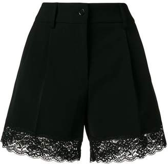 Moschino lace ribbed shorts
