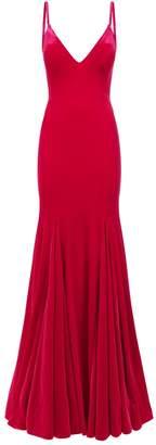 Jovani Sleeveless Velvet Gown