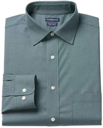 Croft & Barrow Men's True Comfort Fitted Stretch Dress Shirt