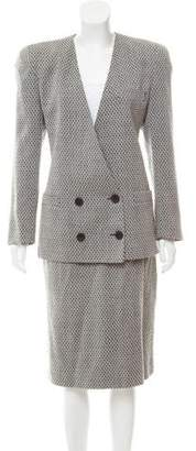 Christian Dior Wool Skirt Suit