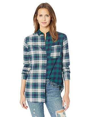 Pendleton Women's Mixed Plaid Flannel Shirt