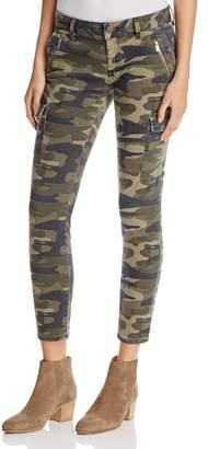 Mavi Jeans Juliette Cargo Pants in Military Camo