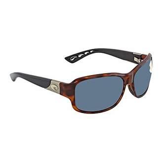 Costa del Mar Women's Inlet Polarized Round Sunglasses