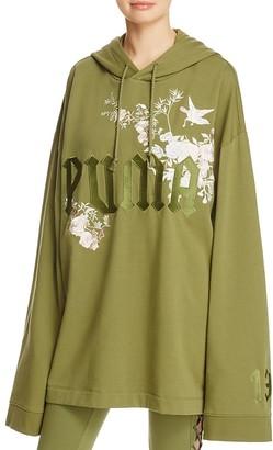 FENTY Puma x Rihanna Oversize Graphic Hoodie $190 thestylecure.com