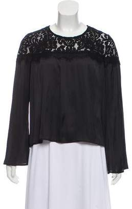 Generation Love Laced Long Sleeve Top
