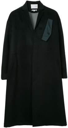 Yoshio Kubo Yoshiokubo oversized A-line coat