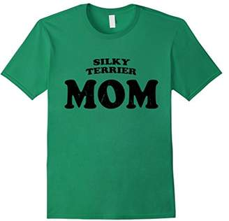 Silky Terrier Mom Dog Mother Cute Pet Distressed T-Shirt