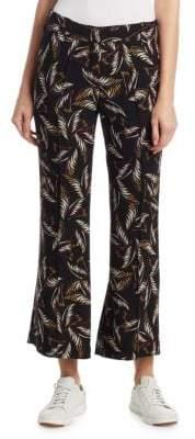 A.L.C. Felix Palm-Print Pants