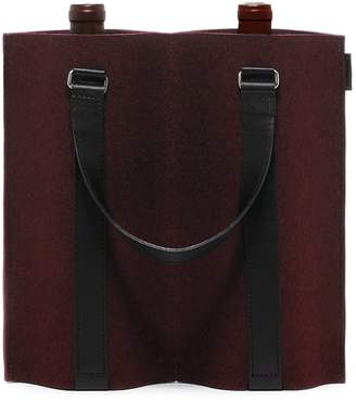 Graf Lantz Felt Duo Wine Carrier