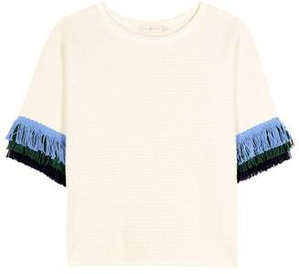 Tory Burch Kingston wool and cotton sweater