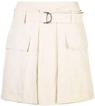 Brunello Cucinelli straight fit mini skirt