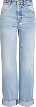 Alexander McQueen High-Waisted Baggy Jeans