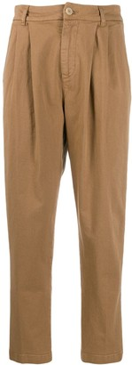 P.A.R.O.S.H. high-rise tapered trousers