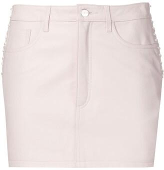 IRO side-lace skirt