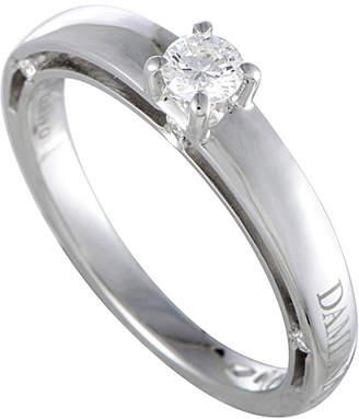 Damiani 18K White Gold 0.35 Ct. Tw. Diamond Ring