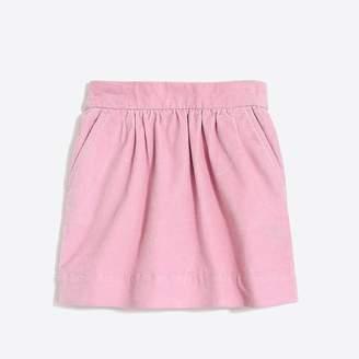 J.Crew Girls' cord skirt
