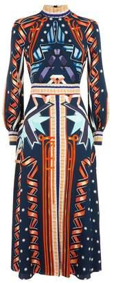 Temperley London Ribbon Midi Dress