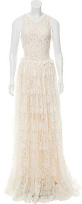 Lanvin Lace Evening Gown w/ Tags $1,295 thestylecure.com