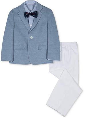 Nautica 4-Pc. Pique Suit Set, Little Boys