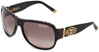 Affliction Sunglasses Raven Black/Antique Gold