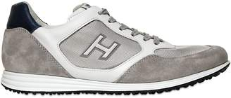 Hogan 20mm Olympia X Leather Running Sneakers